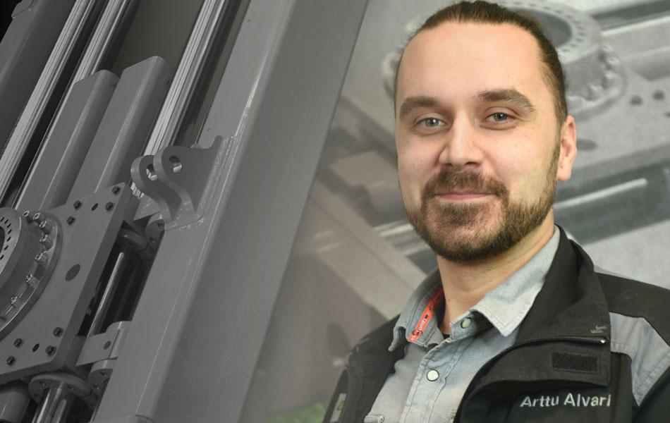 Työn sankarit - Arttu Alvari - Alvarin Metalli